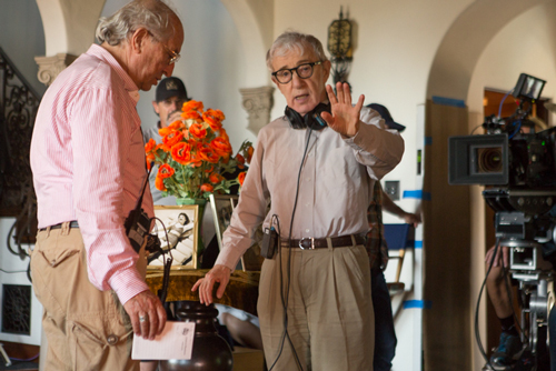 Vittorio Storaro, Woody Allen - Photo By: Sabrina Lantos, © 2016 Gravier Productions, Inc.