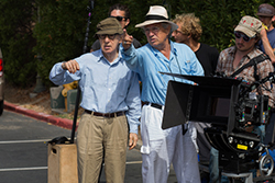 Woody Allen, Vittorio Storaro - Photo By: Sabrina Lantos, © 2016 Gravier Productions, Inc.