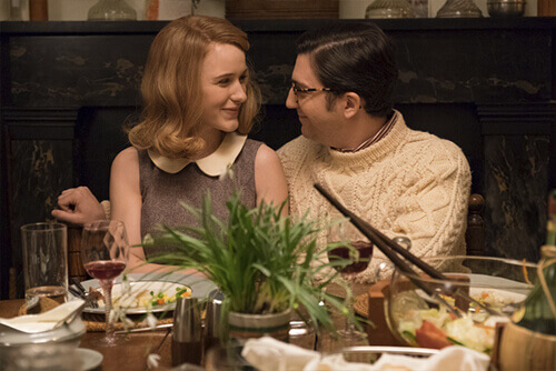 Rachel Brosnahan, John Magaro - Photo By:  Jessica Miglio,  © 2016 Amazon Studios LLC