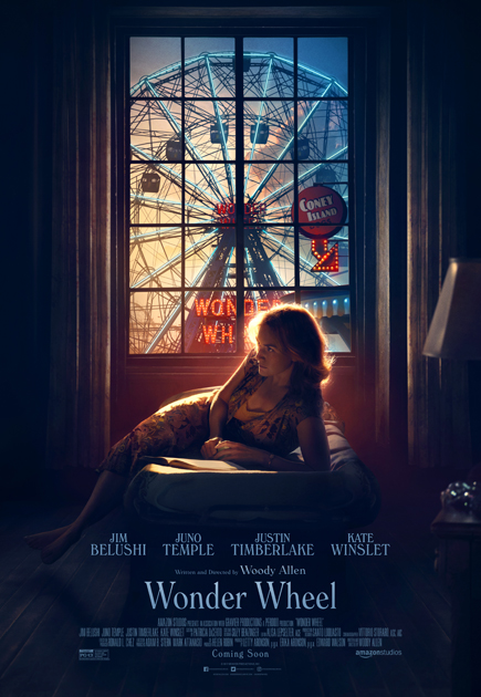 Official Wonder Wheel Poster